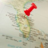 map oflorida with red pushpin_canstockphoto12248628-2